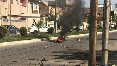 Kerkük'te bomba yüklü motosikletle saldırı: 2 yaralı