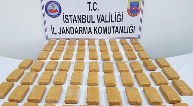 Jandarmadan 7 milyon liralık uyuşturucu operasyonu