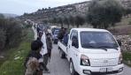 ÖSO, köylerine geri dönen sivillere refakat ediyor