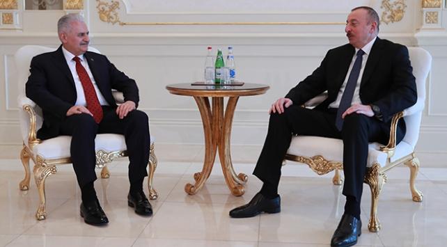 Başbakan Yıldırım Azerbaycanda: Dostuz, kardeşiz, bütün meselelerde birbirimizin yanındayız