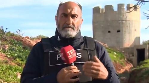 Afrin'deki terör kulelerini TRT Haber görüntüledi