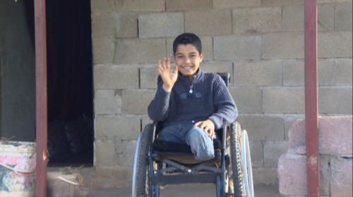 10 yaşındaki Suriyeli Abdülhalim, Türkiyede yaşama tutundu