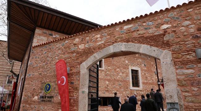 1. Murad Hüdavendigar Külliyesinin restorasyonu tamamlandı