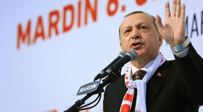 Cumhurbaşkanı Erdoğan: Teröristler kaçıyor, biz topluyoruz