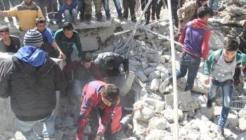 İdlibe hava saldırıları sürüyor: 4 ölü, 6 yaralı
