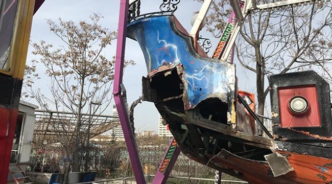 Ankara Gençlik Parkında gondol kazası