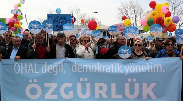 CHPden OHAL protestosu