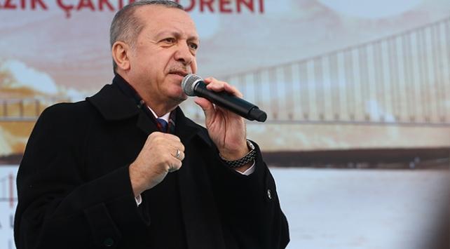 Cumhurbaşkanı Erdoğan: Çanakkale Köprüsü 18 ay erken açılacak