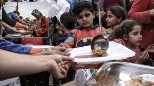 Türkiyeden terörden arındırılan bölgelere insani yardım