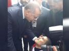 Engelli gencin Cumhurbaşkanı Erdoğan'la tanışma hayali gerçek oldu