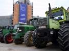 Brüksel'de çiftçiler AB'nin tarım ve hayvancılık politikalarını protesto etti