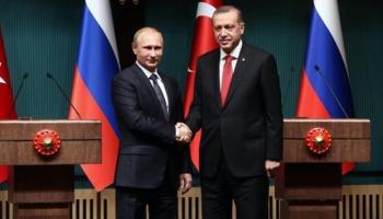 Cumhurbaşkanı Erdoğandan Putine tebrik