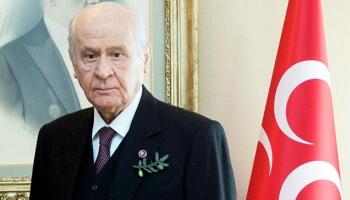 MHP lideri Bahçeli: Afrine Türk bayrağını diken kahramanlarımızla övünüyorum