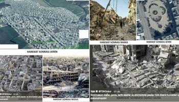 TSKdan Afrin ile ilgili yalan iddialara fotoğraflı cevap