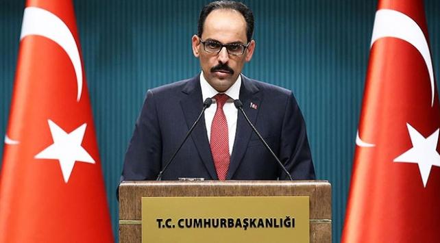 Cumhurbaşkanlığı Sözcüsü Kalın: Batı, YPG ile Kürtleri birbirine karıştırıyor