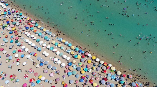 Rus turistlerin gözdesi yine Türkiye oldu