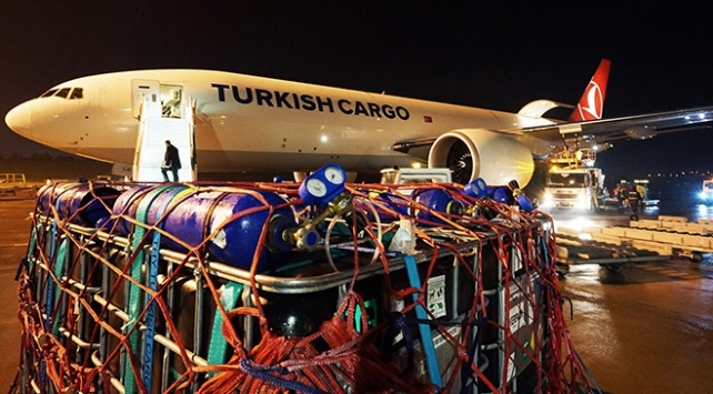 100 ton canlı balık, İzmir'den Umman'a 24 saatte taşındı
