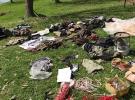 PKK'lıların görüntülenmemek için kullandıkları malzemeler bulundu