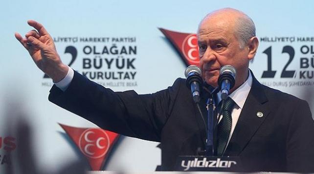 MHP Genel Başkanı Bahçeli'den parti teşkilatına teşekkür mesajı