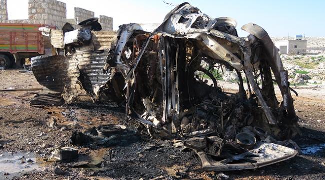 İdlibdeki sığınmacı kampına hava saldırısı: 10 ölü