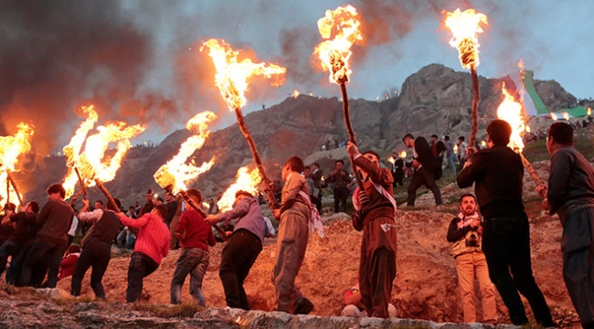 Irakta Nevruz kutlamaları