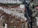 Afrin'de yüzlerce terörist mezarı bulundu