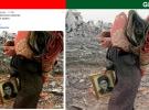YPG/PKK yandaşları Çeçenistan savaşından Afrin yalanı üretti