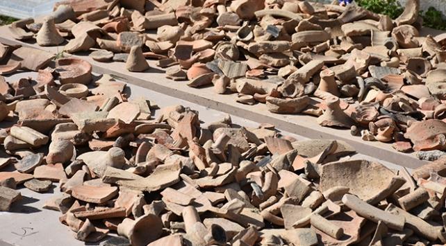Muğlada inşaat kazısında Geç Roma dönemine ait mekanlar bulundu