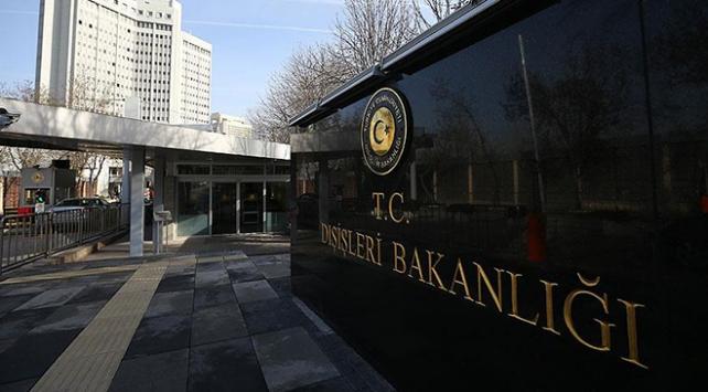 """Türkiyeden Almanyaya """"Zeytin Dalı Harekatı"""" tepkisi"""
