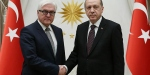 Cumhurbaşkanı Erdoğan Alman mevkidaşı ile görüştü