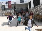 Terörden kurtarılan Afrin'de okullar onarılıyor