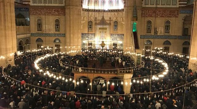 Regaip Kandili tüm yurtta dualarla idrak edildi