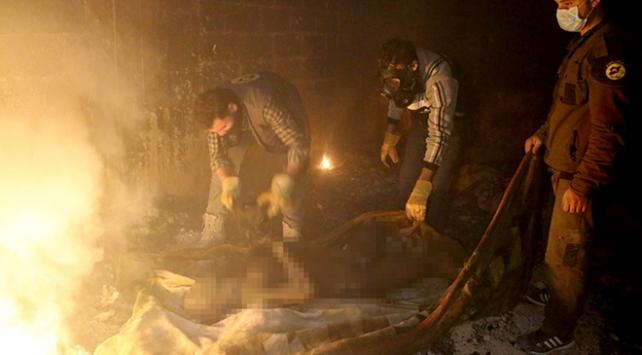 Doğu Gutada 37 sivil yanarak hayatını kaybetti