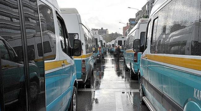 Minibüsçünün otobüs vergisi sorunu çözüldü