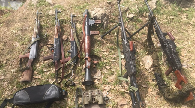 Irakın kuzeyindeki PKK kampları imha ediliyor