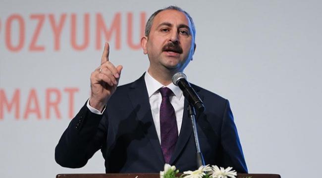 Adalet Bakanı Gül: İstismarın çözümü çok boyutlu olmak zorunda