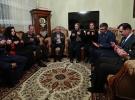 Başbakan Yıldırım ve Akar'dan şehit Usta'nın ailesine taziye ziyareti