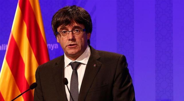 Katalan lider Puigdemont Almanyada gözaltına alındı