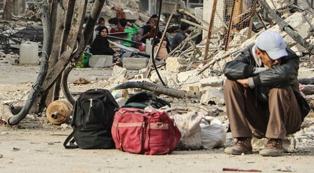 Doğu Gutadan ayrılan sivillerin sayısı 46 bini geçti