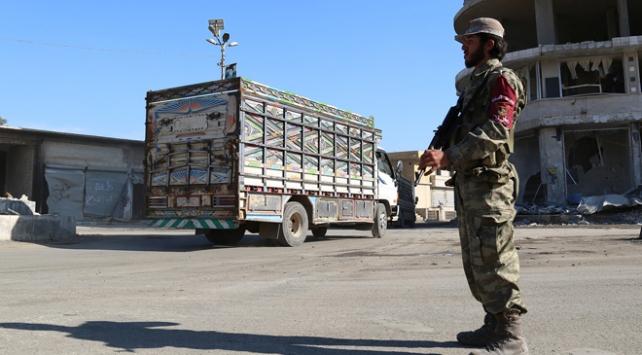 Milli Ordu polisleri Afrinde göreve başladı