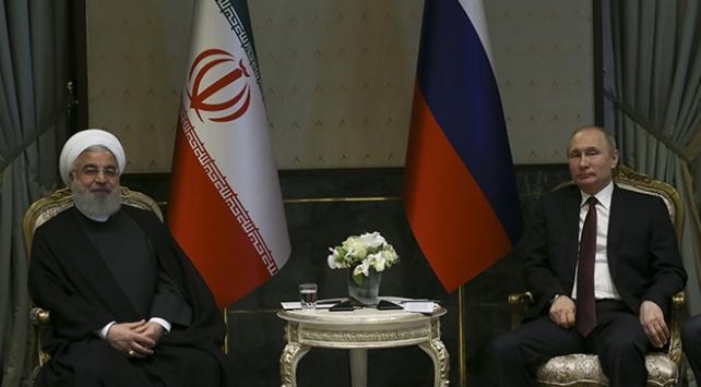 Ruhani-Putin Beştepede görüştü