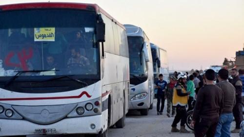 Doğu Guta'dan El Bab'a tahliyeler sürüyor