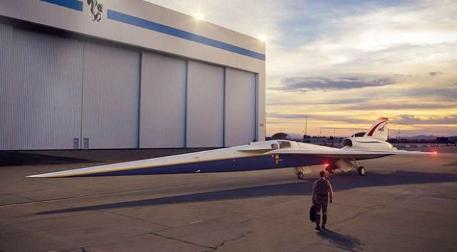 """NASA """"sessiz"""" süpersonik uçakla bir ilki gerçekleştirecek"""