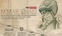 Mimar Sinan eserleriyle yüzyıllardır yaşıyor