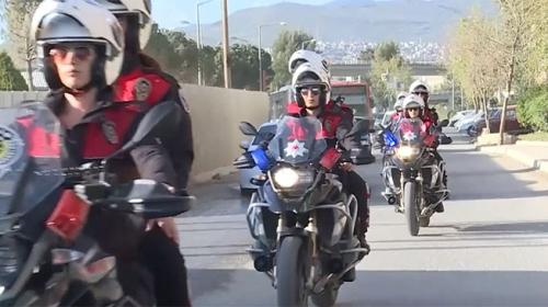 Kadın yunuslar İzmir'in huzur ve güvenliği için çalışıyor
