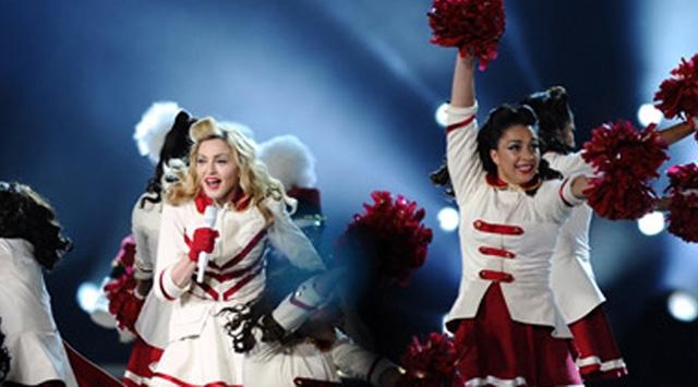 En çok kazanan Madonna