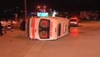 İki Ambulans Kazası: 1 Ölü 7 Yaralı