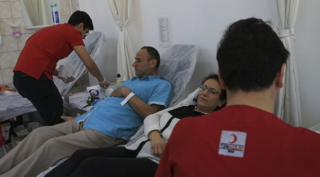 Ankara Emniyetinden kan bağışı etkinliği