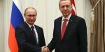 Cumhurbaşkanı Recep Tayyip Erdoğan Putinle görüştü