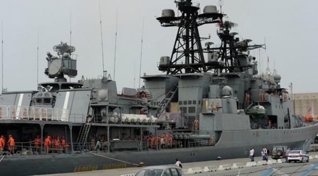Rus gemileri Suriyedeki üsten ayrıldı